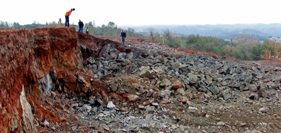 Dec 18, 2008<br/><br/>Moments after the blast, the solid rock has been fragmented into a pile of rubble, which is now ready for removal.